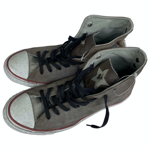 Pre-owned Converse Cloth Trainers