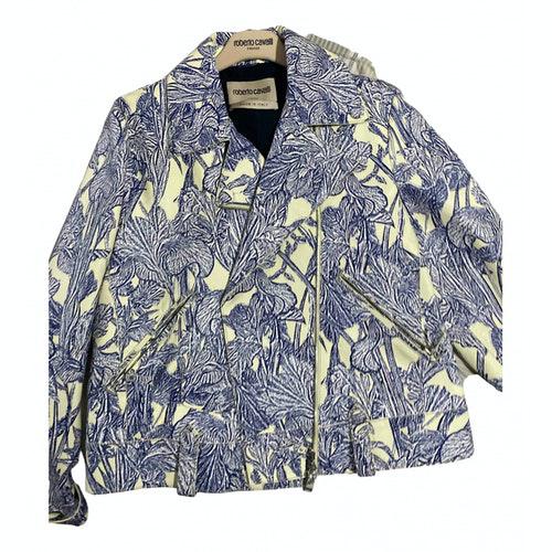 Pre-owned Roberto Cavalli Leather Coat