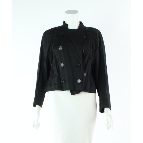 Pre-owned Dries Van Noten Black Cotton Jacket