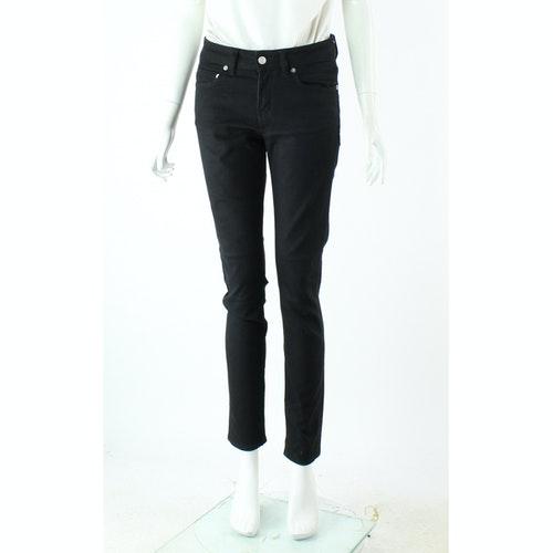 Pre-owned Saint Laurent Black Cotton Jeans
