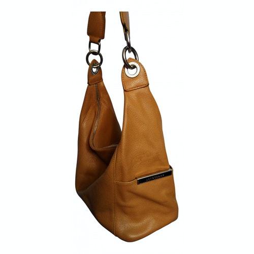 Pre-owned Longchamp Beige Leather Handbag