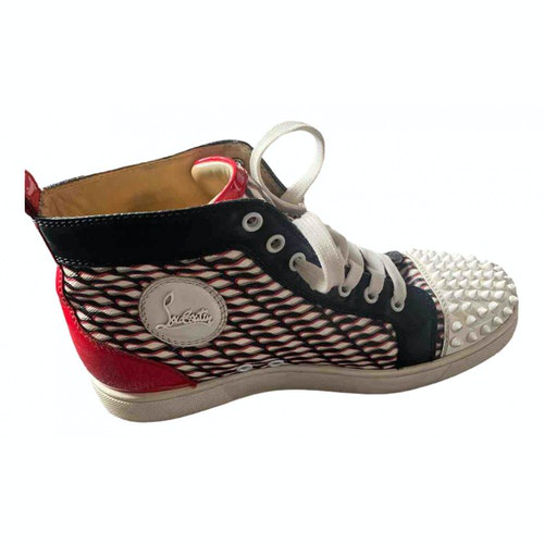 Pre-owned Christian Louboutin Multicolour Rubber Trainers