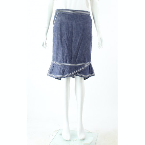 Pre-owned Marc Jacobs Blue Cotton Skirt
