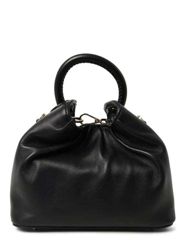 Elleme Small Dumpling Lambskin Bag In Black