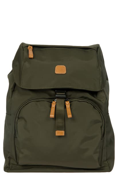 Bric's X-bag Travel Excursion Backpack In Olive