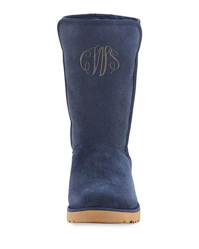 Ugg Amie Classic Slim&Trade; Short Boot In Navy