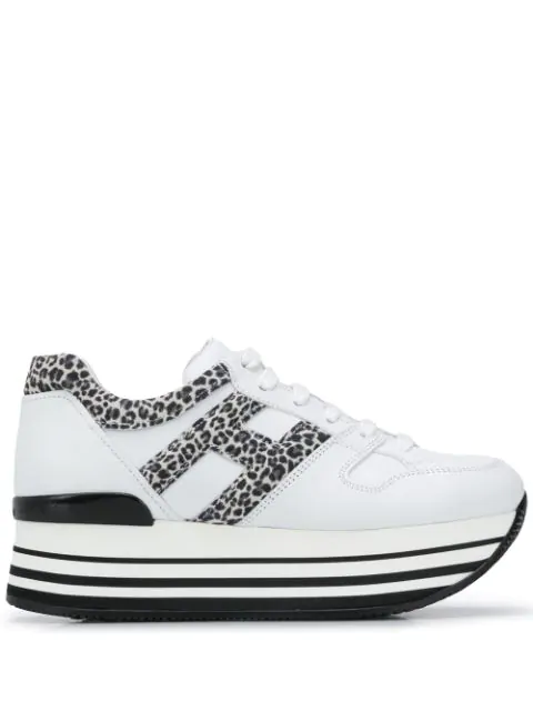Maxi Platform H283 Sneakers In White