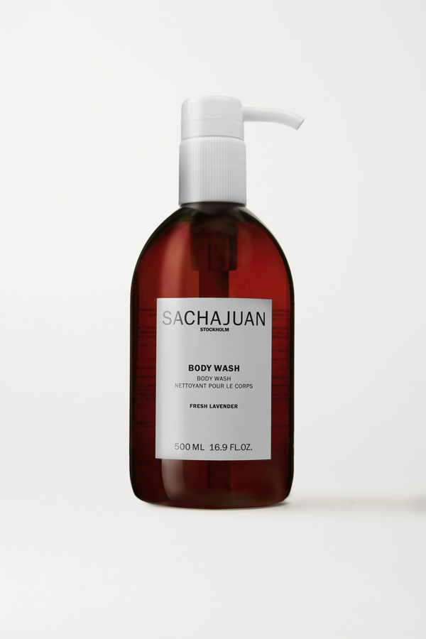 Sachajuan Body Wash - Fresh Lavender, 500ml In Colorless