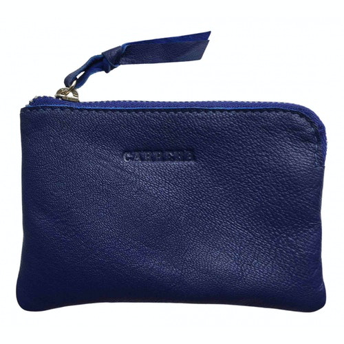 Pre-owned Carrera Blue Leather Small Bag, Wallet & Cases