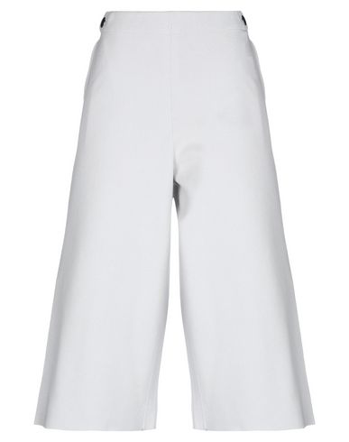Liviana Conti Cropped Pants & Culottes In Light Grey