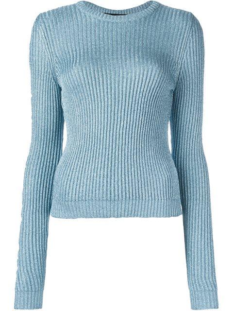 Jeremy Scott Round Neck Pullover