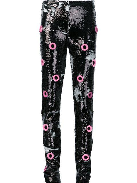Jeremy Scott 'Holey Sequin' Trousers