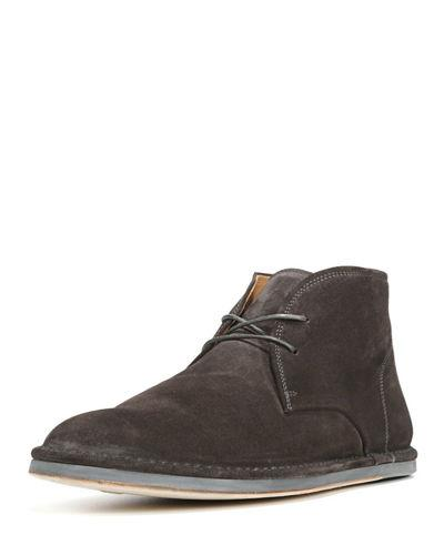 Vince Ramsey Suede Chukka Boot In Charcoal
