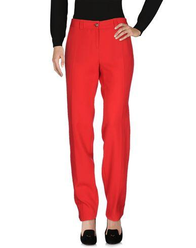 John Galliano Casual Pants In Red