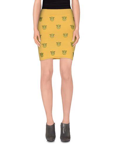 Jeremy Scott Mini Skirt In Yellow