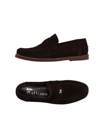 John Galliano Loafers In Dark Brown