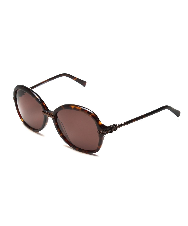 John Galliano Women's Oversized Frame Sunglasses Tortoise In Brown