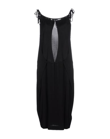 John Galliano Knee-Length Dress In Black
