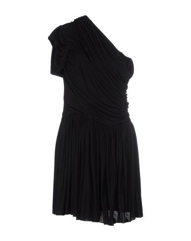 John Galliano Short Dress In Black