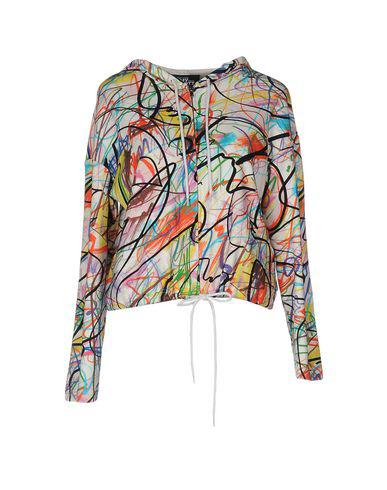 Jeremy Scott Hooded Sweatshirt With Zip In White