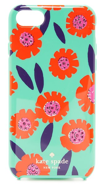 Kate Spade Jeweled Majorelle Phone Case For Iphone® 7 In Garden Mint