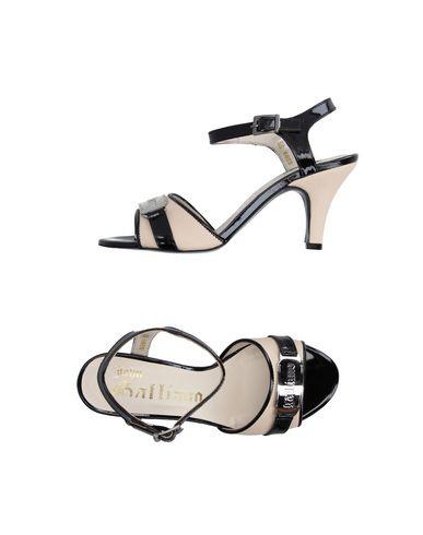 John Galliano Sandals In Black