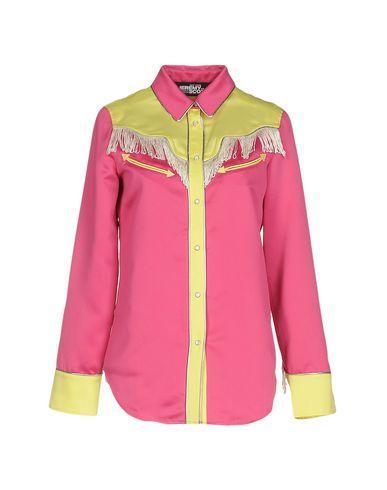 Jeremy Scott Patterned Shirts & Blouses In Fuchsia