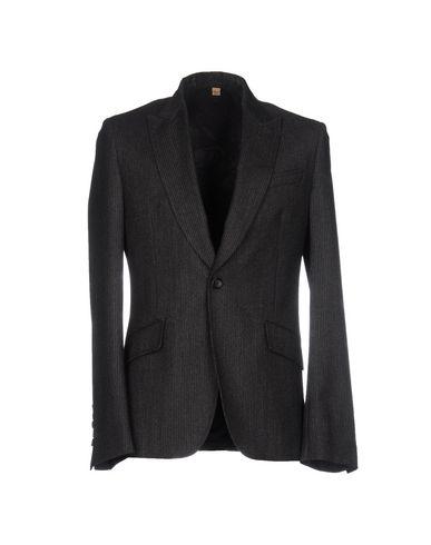 John Galliano Blazers In Steel Grey