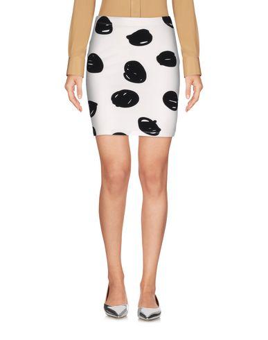 Jeremy Scott Mini Skirts In White