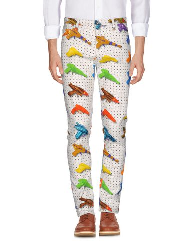 Jeremy Scott Casual Pants In Ivory