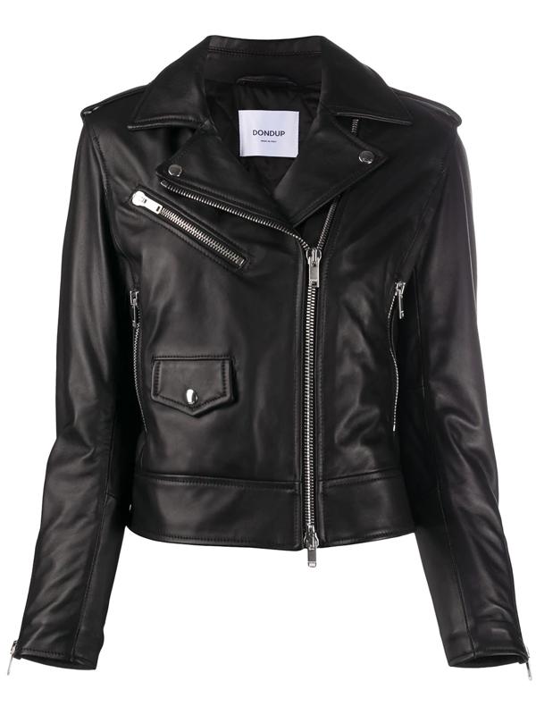 Dondup Padded Jacket In Black