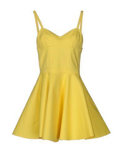 Jeremy Scott Short Dress In Yellow