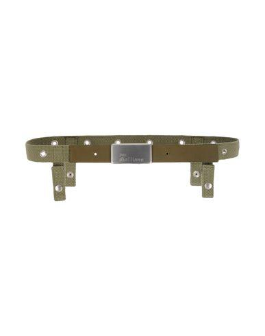 John Galliano Regular Belt In Military Green