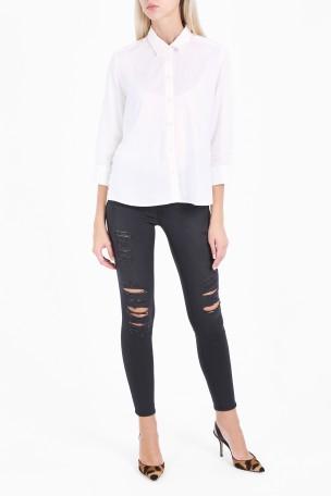 Frame Le Skinny Quintin Shred Jeans