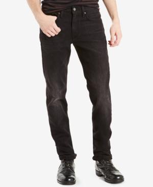 Levi's Men's 512 Slim Taper Fit Jeans In Black