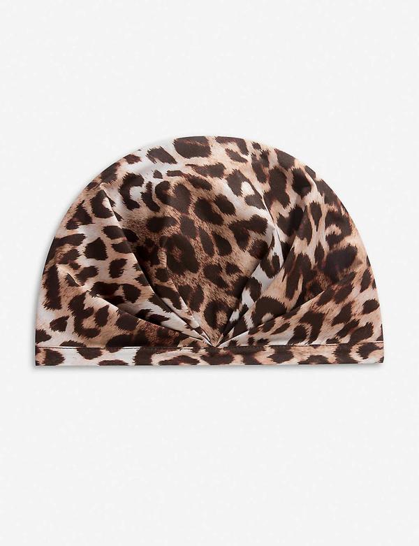 Shhhowercap The Minx Leopard-print Showercap