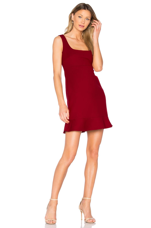 Red Valentino Sleeveless Mini Dress In Red