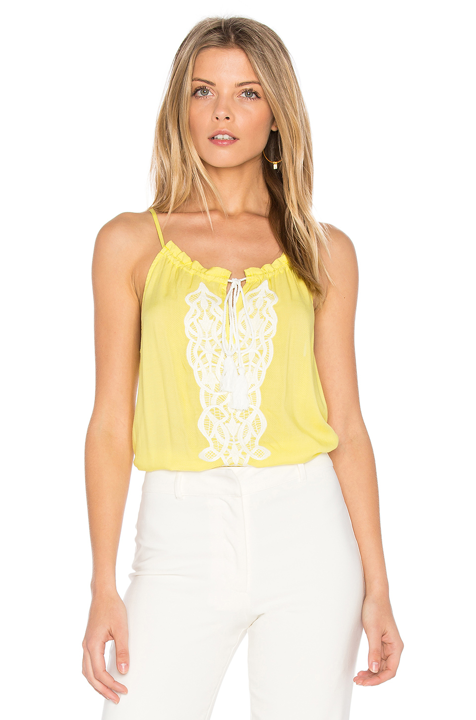 Bb Dakota Mardi Top In Yellow