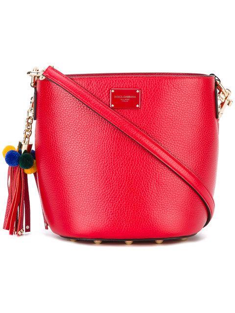 Dolce & Gabbana Cross Body Bucket Bag