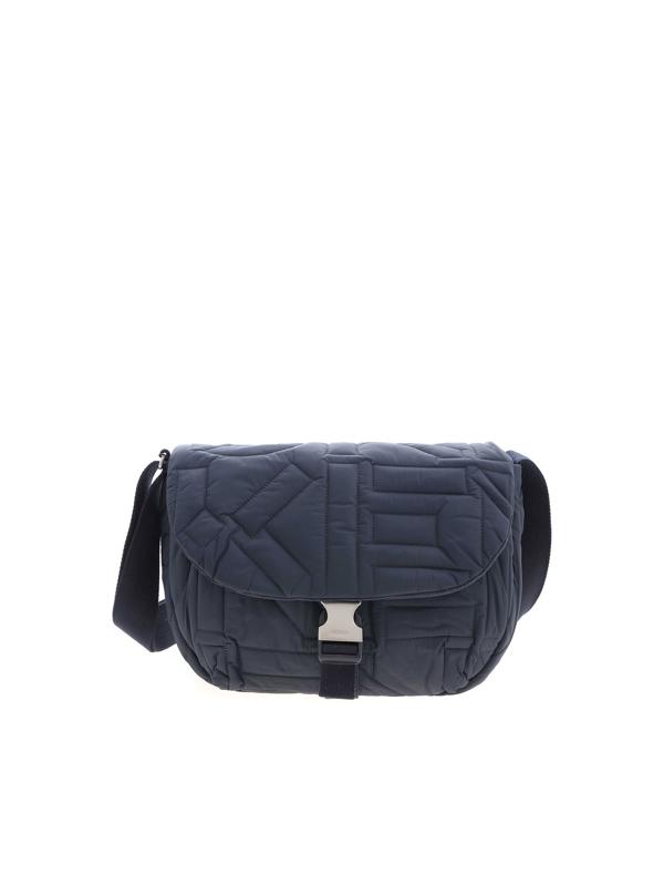 Kenzo Large Arctik Shoulder Bag In Blue