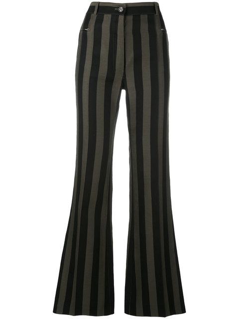 Nina Ricci Striped Flared Trousers