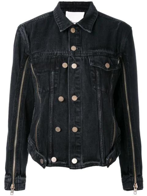 3.1 Phillip Lim Denim Jacket In Black