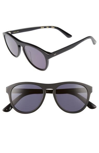 Toms Declan 54Mm Sunglasses - Matte Black
