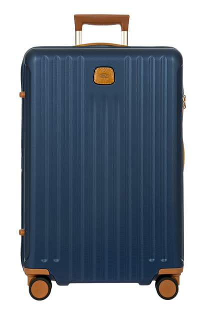 Bric's Capri 2.0 27-inch Expandable Rolling Suitcase In Matte Blue