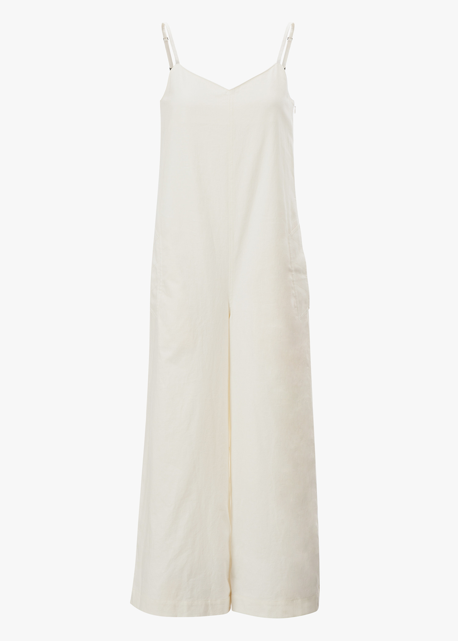Y's Cami Overall In White