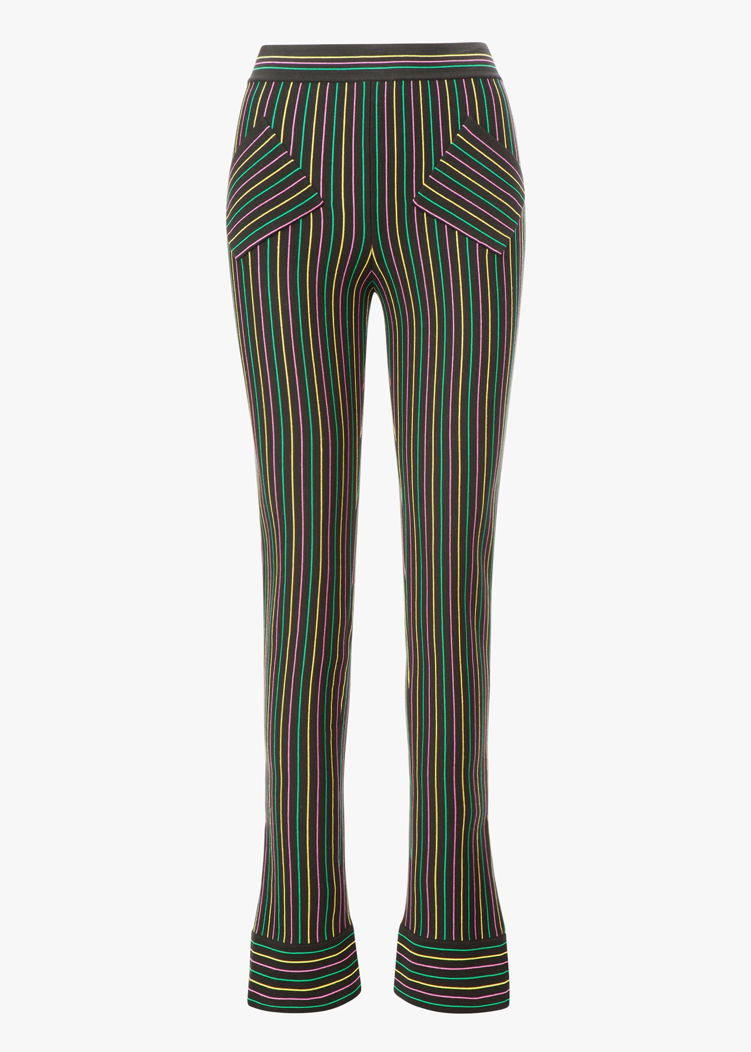 J.W.Anderson Cotton Crepe Knit Trouser In Black