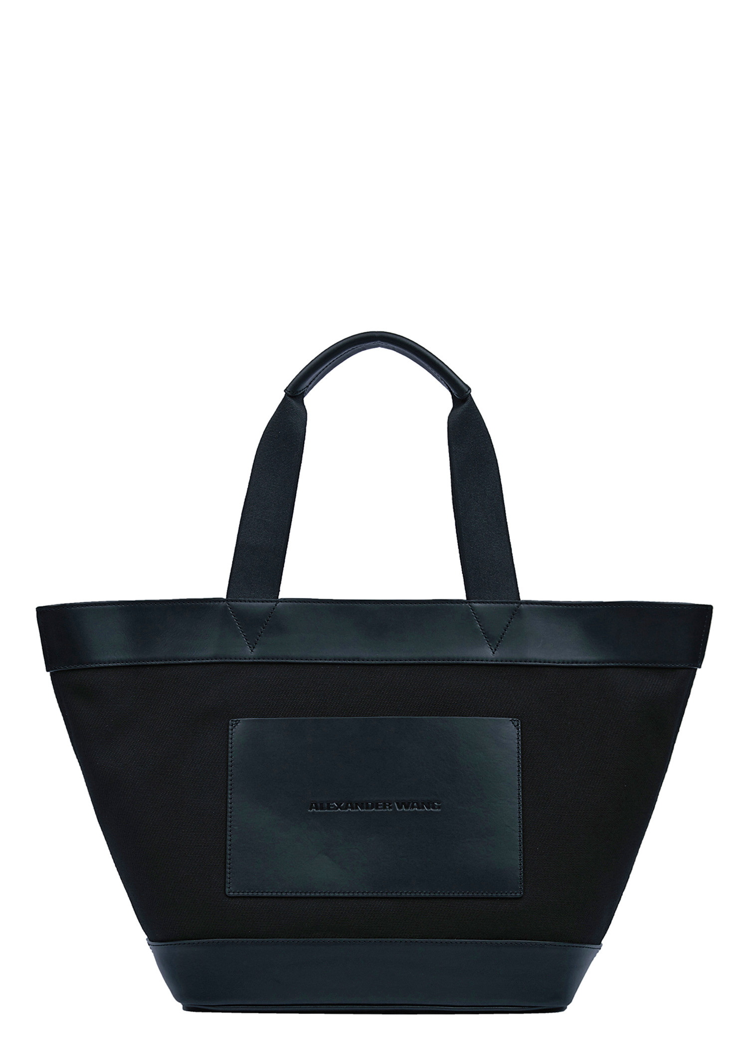 Alexander Wang Canvas Large Tote In Black