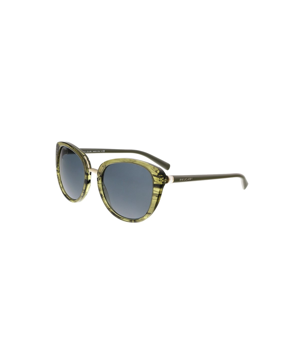 Bulgari Bv8177 5398/87 Green Cat Eye Sunglasses