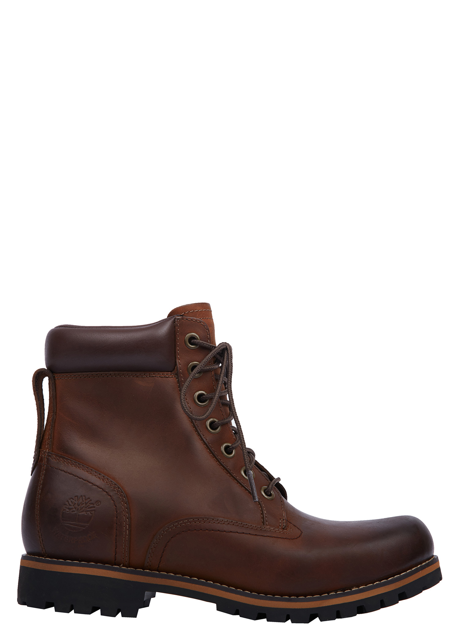 Timberland Men's Rugged 6-Inch Plain Toe Boot In Brown