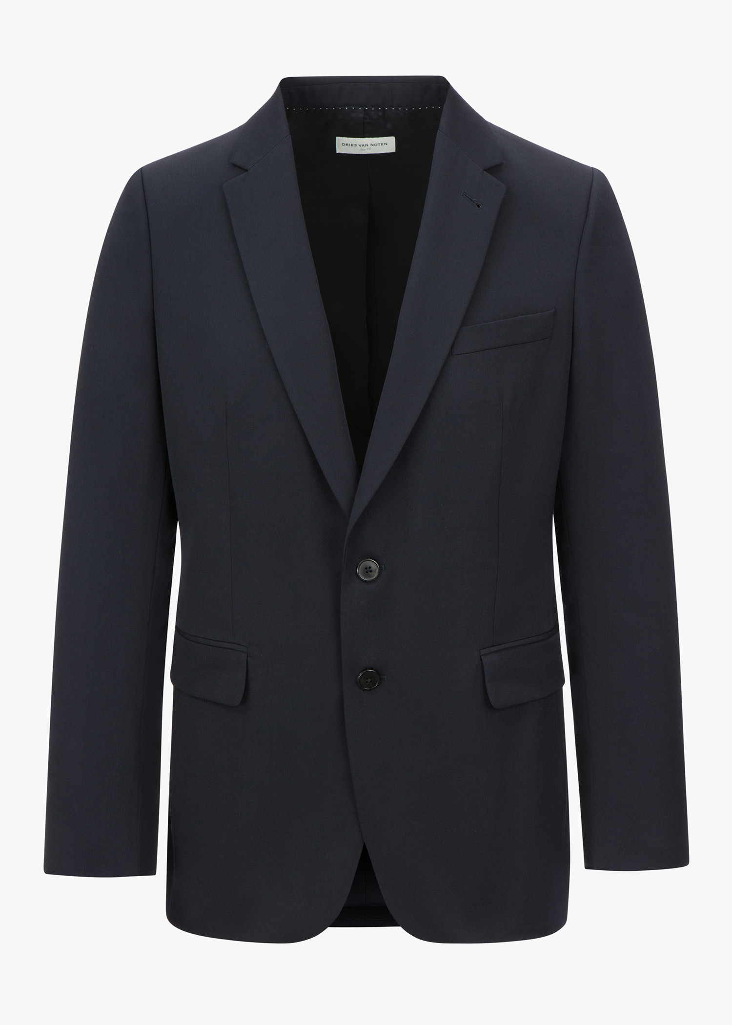 Dries Van Noten Barista Blazer In Navy